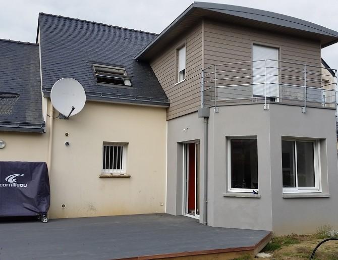 Extension bois à Nantes