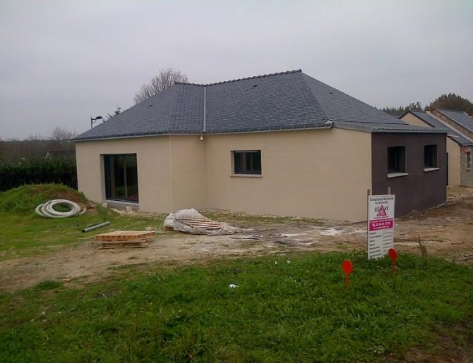 Construction d'une maison comtemporaine à Nantes