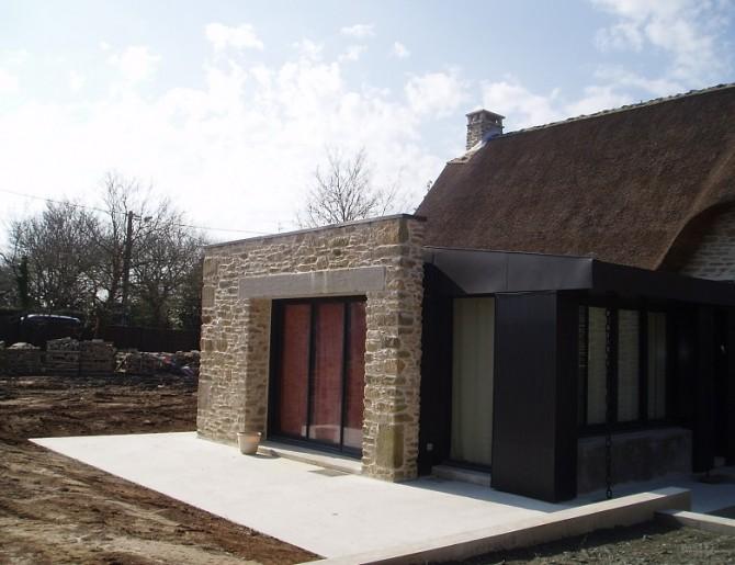 Rénovation d'une chaumière à Guérande
