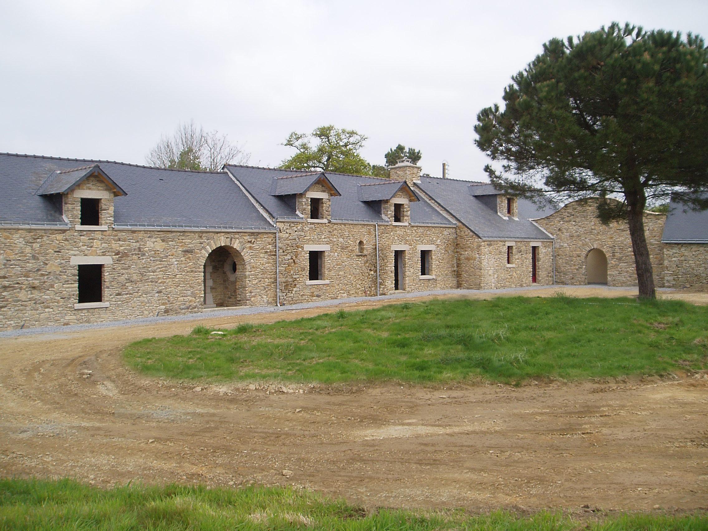 Rénovation d'un ancien corps de ferme à Missillac